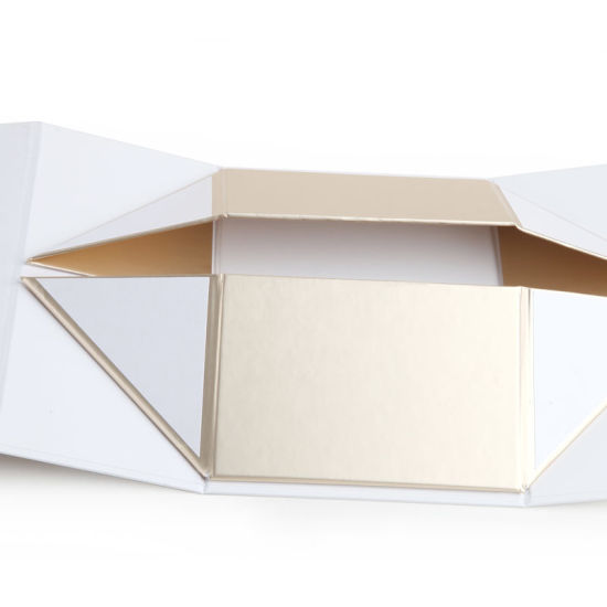 Foldable Cardboard Cosmetic Paper Gift Box Storage Container