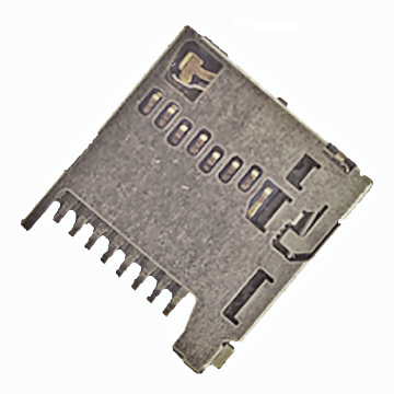 MICRO SD CARD Series 1.28mm Height Connector