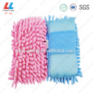 Bulk massaging luxury cleaning sponge