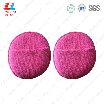 Artificial handle fiber cleaning sponge