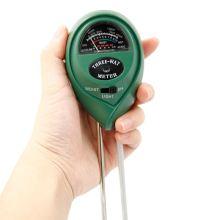 1 Pcs 3 in 1 Garden Detector Hygrometer Digital Soil Moisture Meter Analysis PH Tester Light Detector Acidity PH Moisture Meter