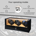 3 Rotors Watch Winders With Two Knobs
