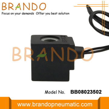 8mm Hole Diameter Solenoid Coil With Flying Leads