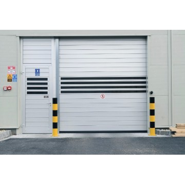 Turbin High Speed ​​Roller Shutter Aluminium Door
