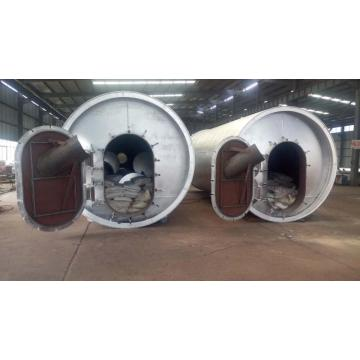 environmental waste tyre pyrolysis machine lines