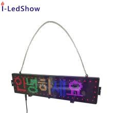 16*80 pixel super thin 12V Programable Led Car Advertising Display Board car led scrolling message car rear display