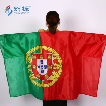 Custom 3x5ft  polyester Portugal country body flag