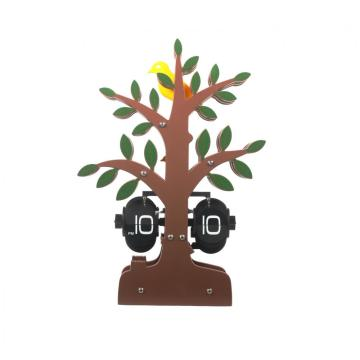 Cute Tree-shape Flip Clock