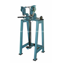 two head pedal eyelet machine