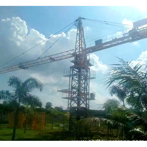 12T High Efficiency and High Quality Tower Crane