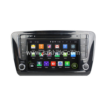 2 Din fir Skoda Octavia Steering Wheel Android