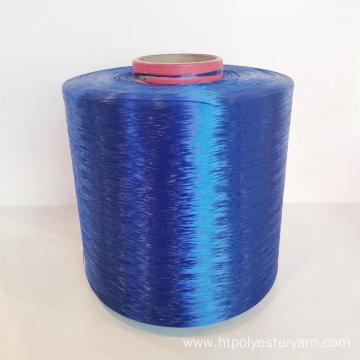 High Tenacity Dope Dyed Colored Polyester Yarn