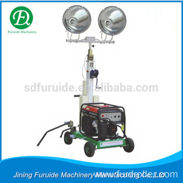 2KW Outdoor Mobile Telescopic Light Tower with Gasoline Generator (FZM-1000A)