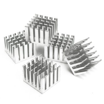 Aluminium Die Casting Cold Forging Flexible Heat Sink