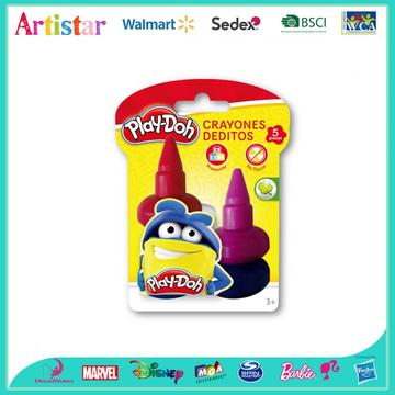 Play-Doh color crayons Deditos