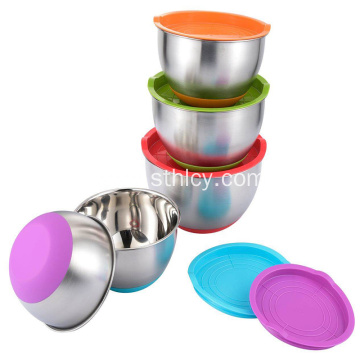 6-Piece Stainless Steel Mixing Bowl