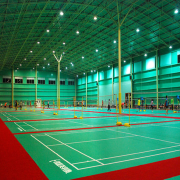 BWF Vinyl / PVC indoor Badminton Court