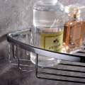 HIDEEP Full Copper Single Layer Triangular Shower Rack