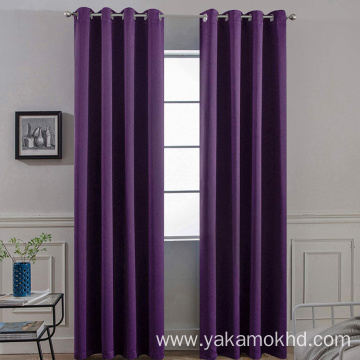 Purple Blackout Curtains 84 Inch Long