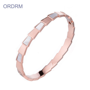 New Design Women's Rose Gold Bangle Bracelets Wholesale