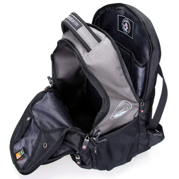 Large capacity and organized waterproof suissewin backpack