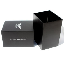 Luxury Cardboard Package Retailing foam insert box Matte