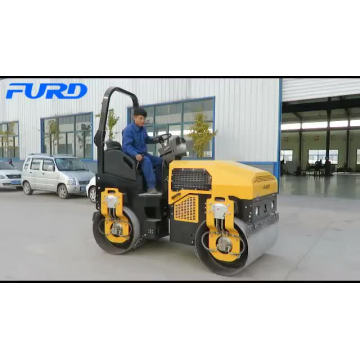 3000kg Hydraulic Vibrating Steel Drum Roller Compactors