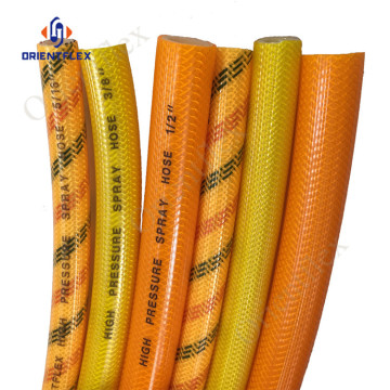 flexible pvc korea agricultural water spray hose
