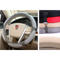 Sandwich Suede Fabric steering wheel cover