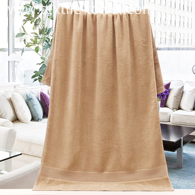Solid Khaki Bath Towel