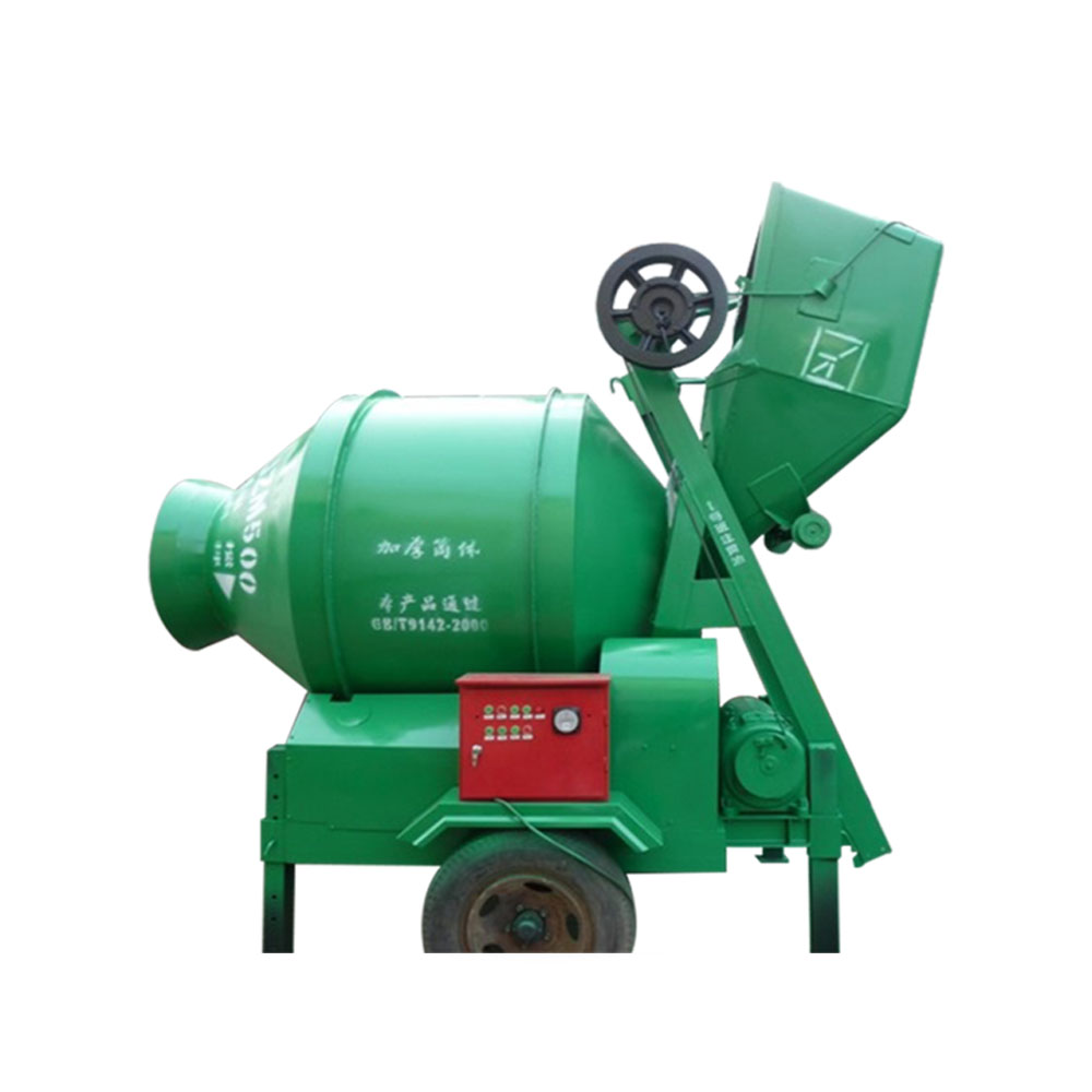 JZC Electric cement concrete mixer machine price
