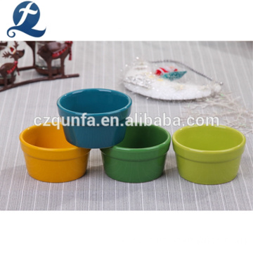 Wholesale Custom Colorful Ceramic Cake Baking Pan