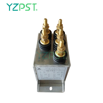 500Hz Intermediate frequency water cooled capacitors 1.2KV