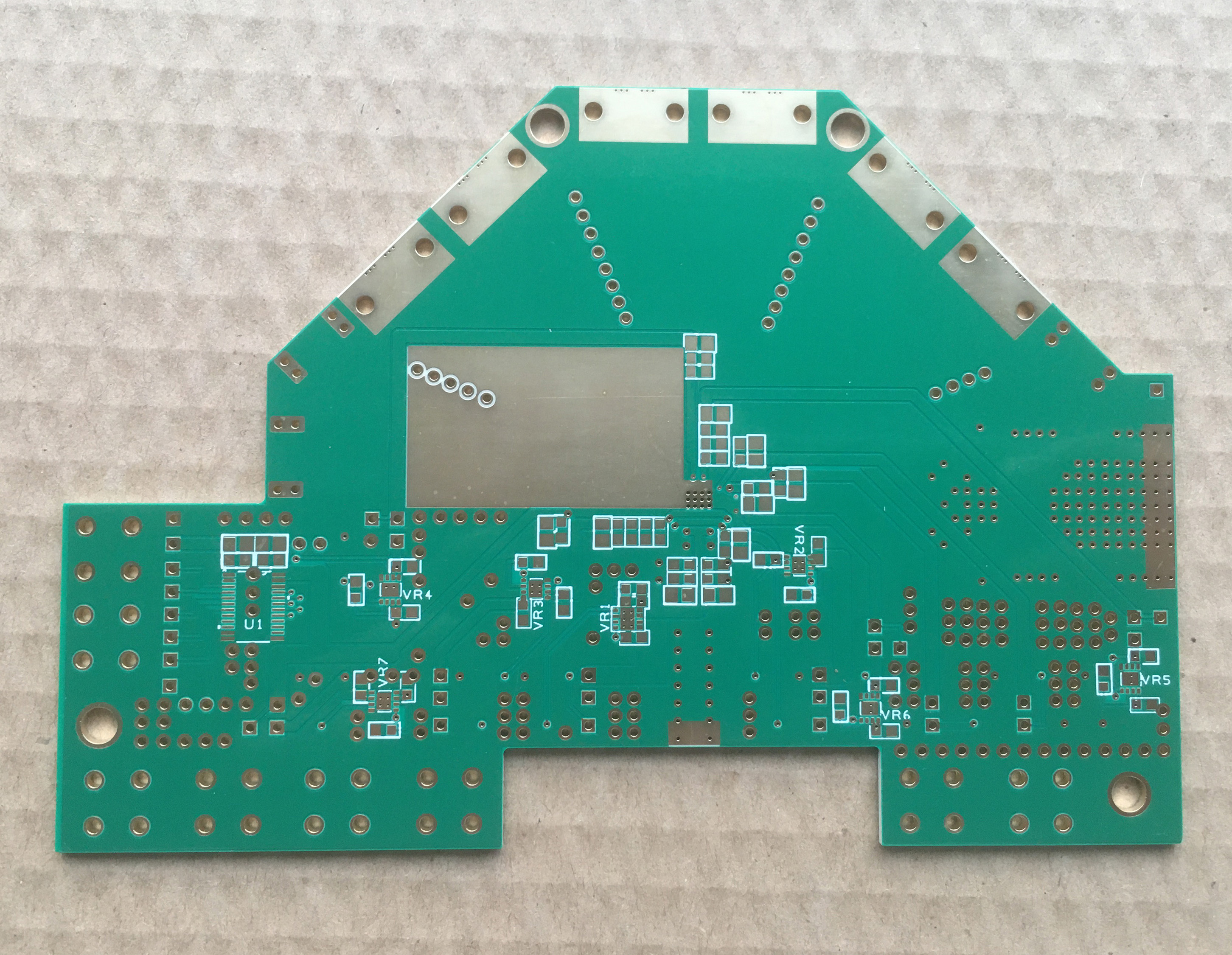 RF PCB impedance