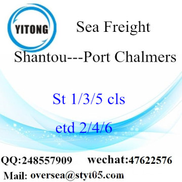 Shantou Port LCL Consolidation To Port Chalmers