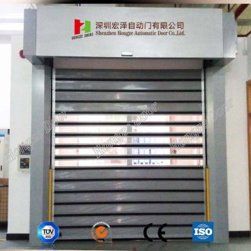 Aluminum Alloy High Speed Insulated Spiral Door