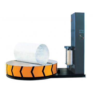 Cylinder Type Semi Automatic Paper Roll Wrapper