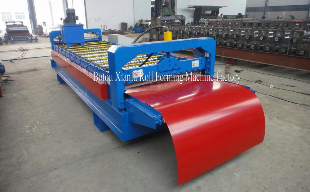 Color Steel Sheet wall panel roll forming machine