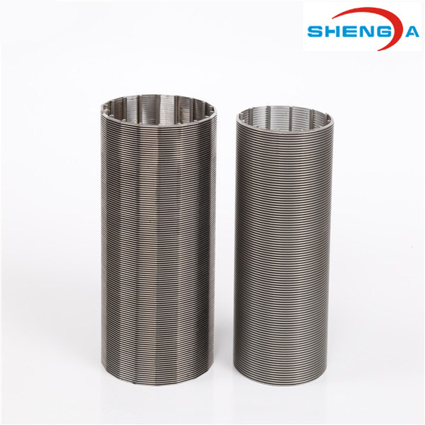 304 Inverted Radial External Wire Filter Element