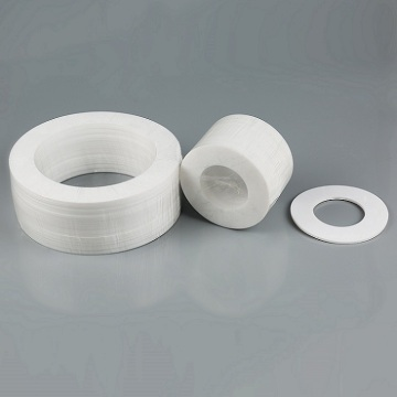 virgin ptfe gasket sheet white