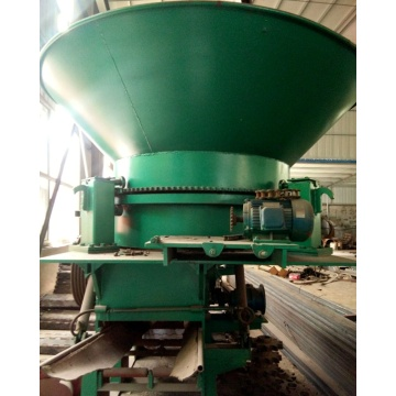 Easy control Disc-type sawdust machine