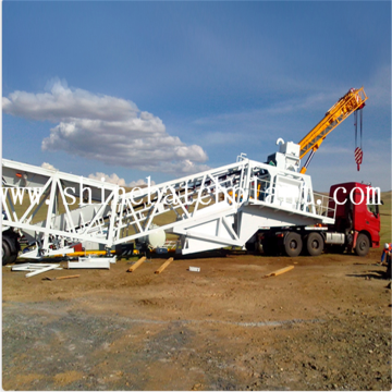 Construction 75 Portable Concrete Batching Plant