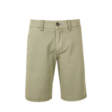 Zipper Fly Classic Chino Shorts