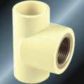 DIN PN16 Water Supply Upvc Female Tee Brass