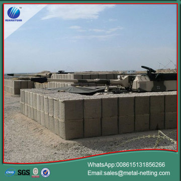 hesco barrier wall military bastion wall