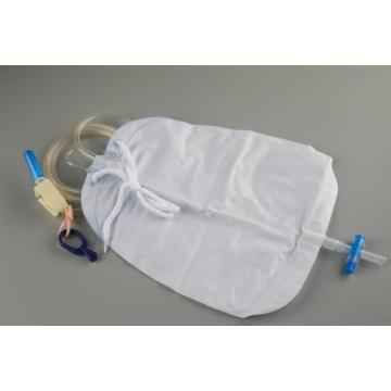 Portable 1000ml 1500ml 2000ml Urine Collection Drainage Bag