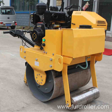 Hand operated 500kg mini road roller compactor in stock FYL-700C