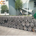 Low consumption graphite electrode for ceramic smelting