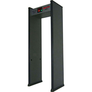 Airport security metal detectors