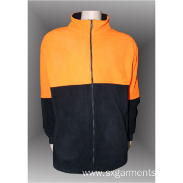 Hot sale 100% polyester man's polar fleece jacket